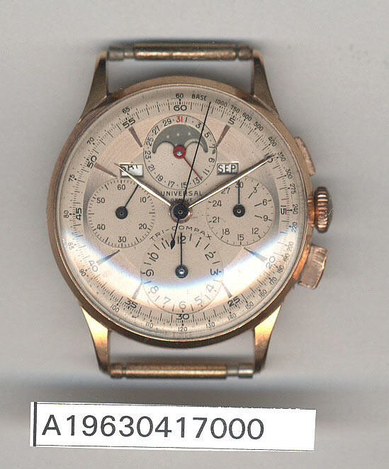 Wrist Watch, James H. Doolittle,Wrist Watch, James H. Doolittle