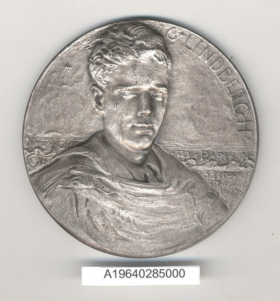 Medal, Commemorative, Charles A. Lindbergh