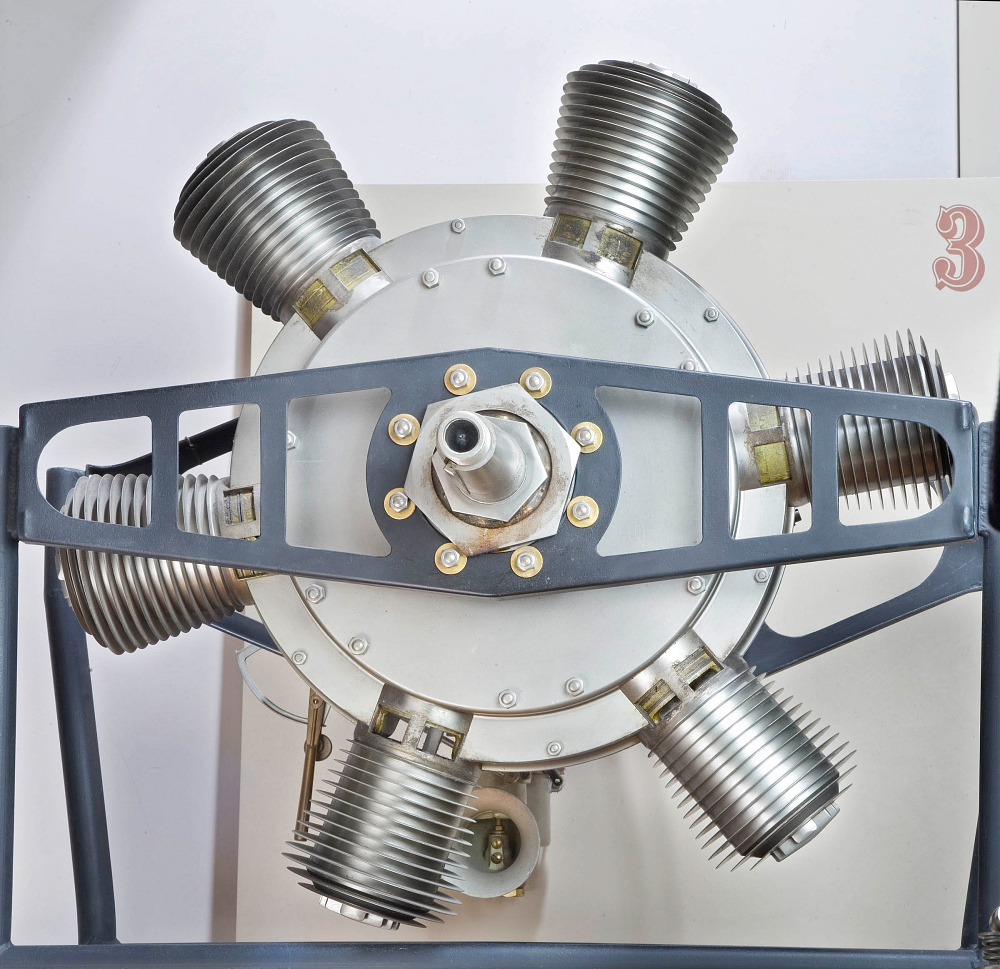 Murray Rotary 6 Engine