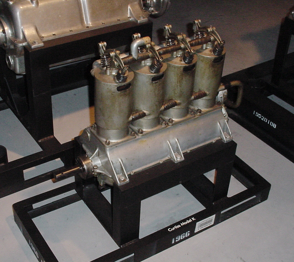 Curtiss Model K, In-line 4 Engine