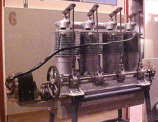 Kemp (Grey Eagle) I-4 or D-4, In-line 4 Engine
