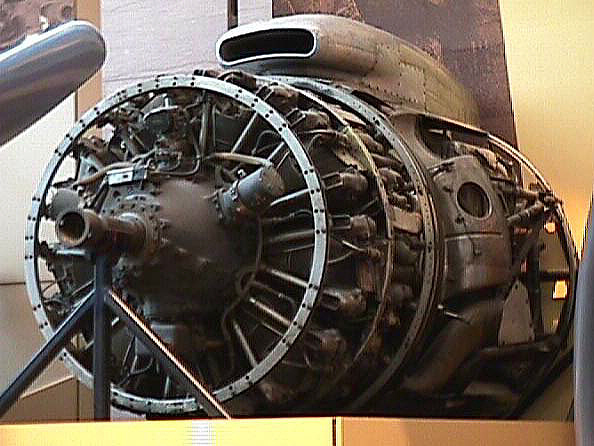 Wright Turbo-Cyclone 18R-3350-TC (972TC18DA2), 2-Row, Radial Engine