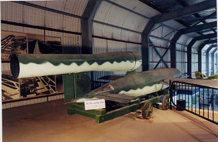 Missile, Surface-to-Surface, Loon (JB-2), Painted as a German V-1