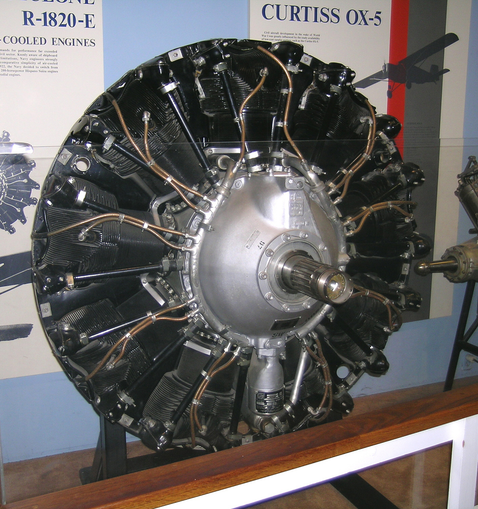 Wright Cyclone R-1820-97 (Studebaker), Radial 9 Engine