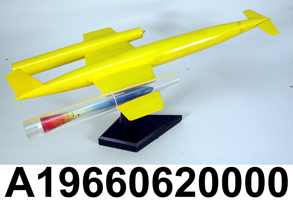 Model, Rocket, M44 Ramjet,Model, Rocket, M44 Ramjet