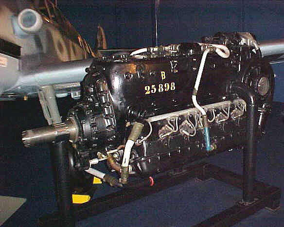 Daimler-Benz DB 605 Inverted V-12 Engine