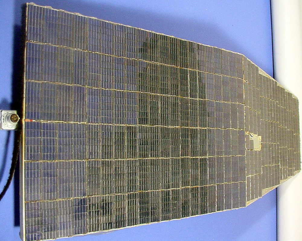 Communications Satellite, Solar Panel, Relay 1