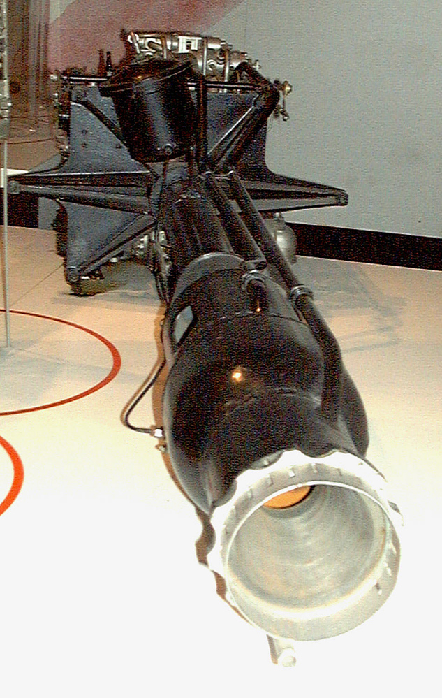 Rocket Motor, Liquid Fuel, HWK 109-509 A-1