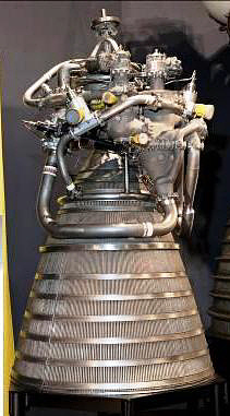 Rocket Engine, Liquid Fuel, RL-10A-1