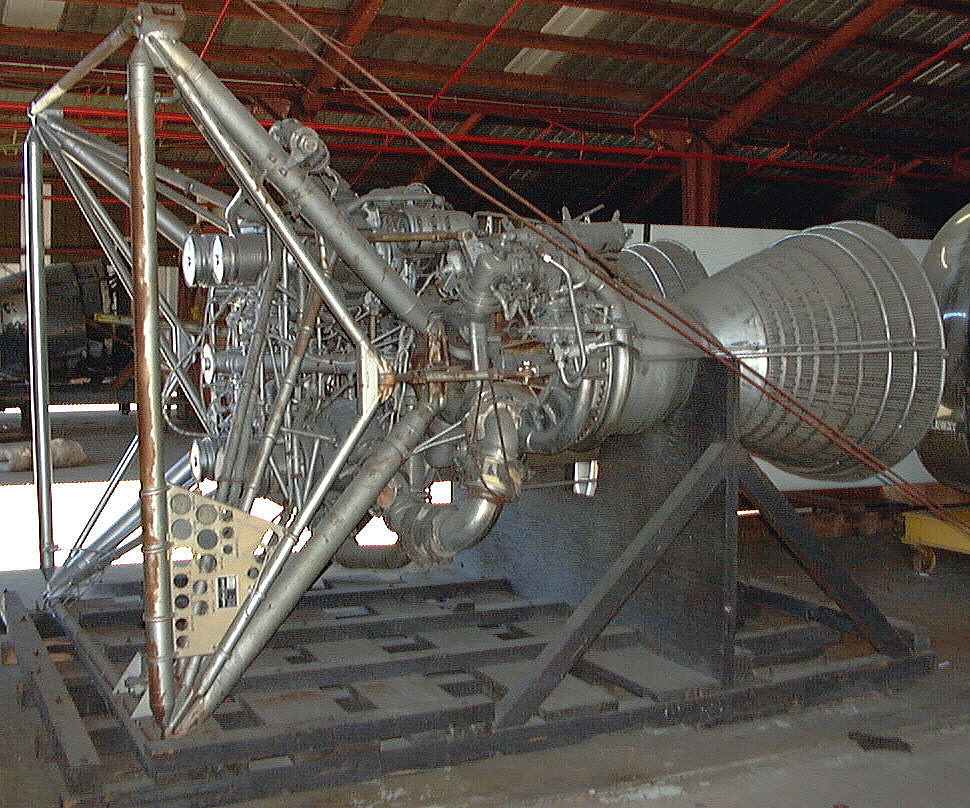 Rocket Engine, Liquid Fuel, XLR-87-AJ-1 for Titan 1 Missile