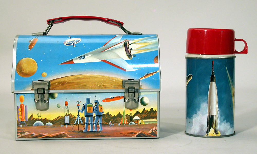 "Lunchbox Kit, ""Astronaut"" and ""Orbit"""