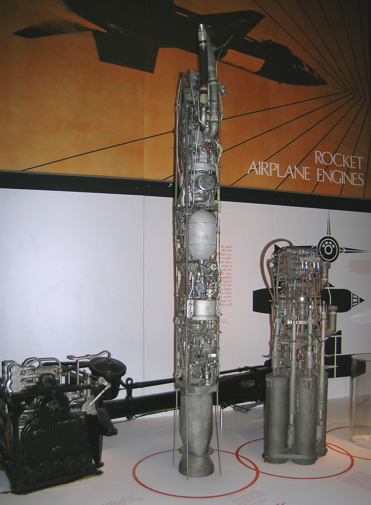 Rocket Engine, Liquid Fuel, Mockup, LR-63-AJ-1
