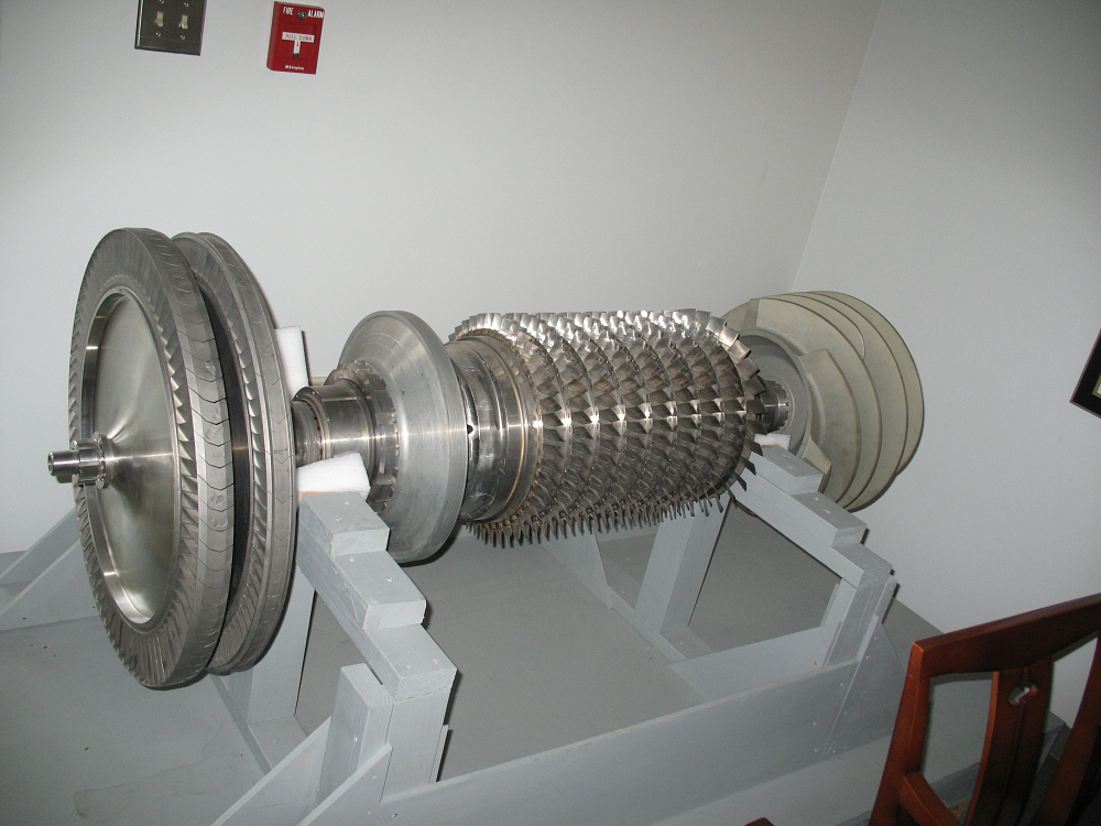 Turbopump Assembly, Rotating, for M-1 Liquid Fuel Rocket Engine