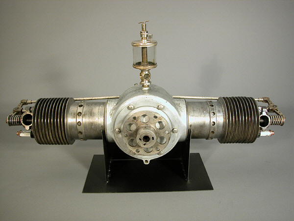 Bates Model 2 B Horizontally-opposed Engine