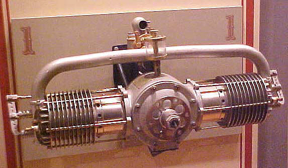 Kemp G-2 Horizontally-opposed Engine