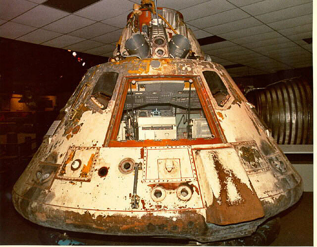 Command Module, Apollo 4