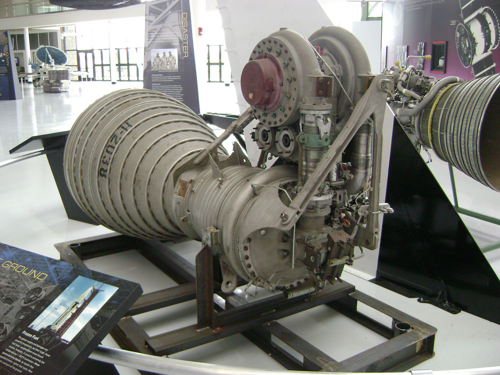Rocket Engine, Liquid Fuel, H-1A