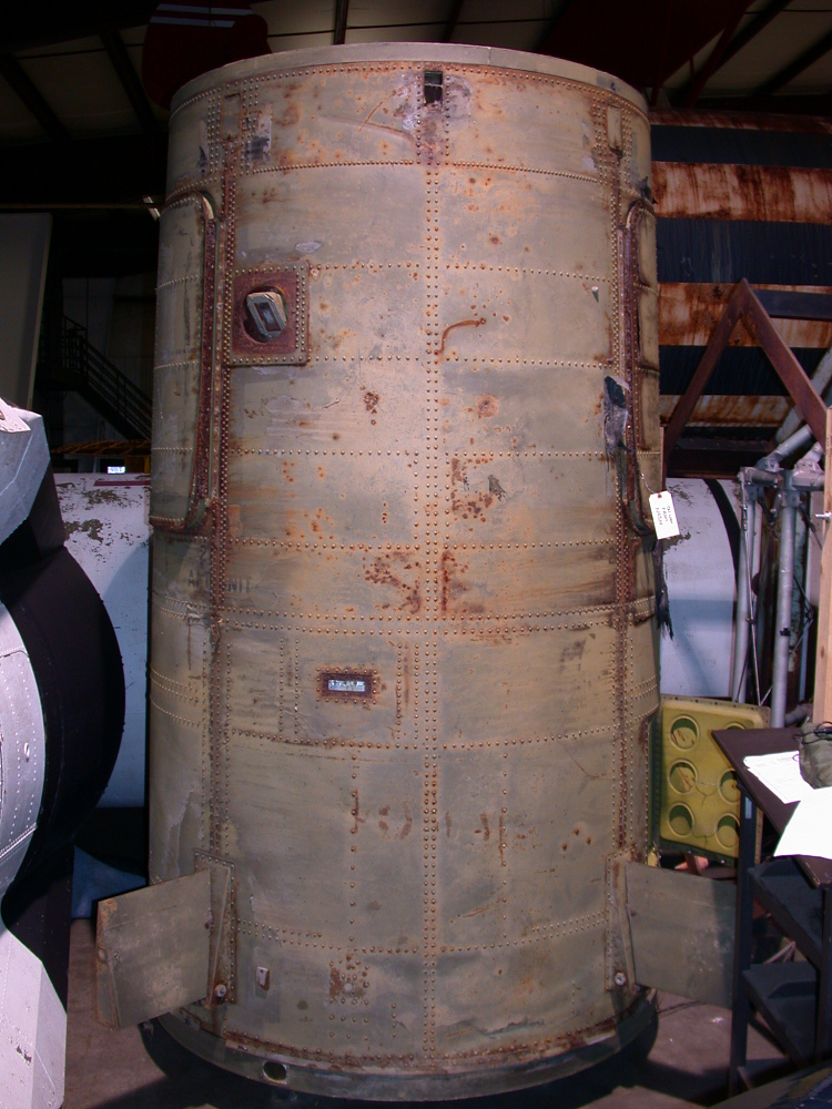 Rocket, Liquid Fuel, Redstone, with Mercury Spacecraft Mockup