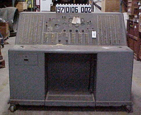 Console, F-86H Cockpit Procedures Trainer