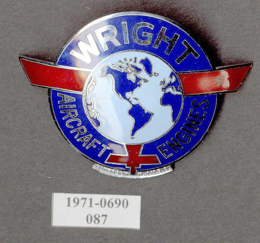 Wright Aircraft Engines Insignia,Wright Aircraft Engines Insignia