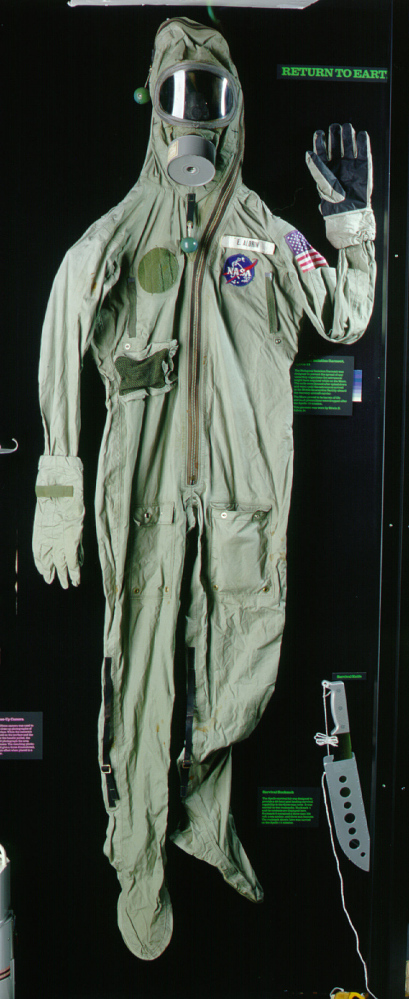 Biological Isolation Garment, Aldrin, Apollo 11