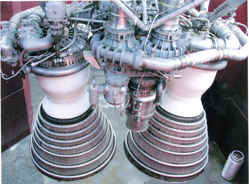 Rocket Engine, Liquid Fuel, XLR-AJ-87-1, Gemini Booster, E type,Rocket Engine, Liquid Fuel, XLR-AJ-87-1, Gemini Booster, E type