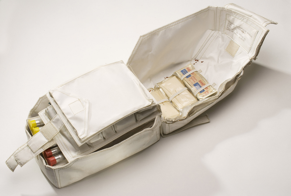 Kit, Medical Accessories, Command Module, Apollo 11