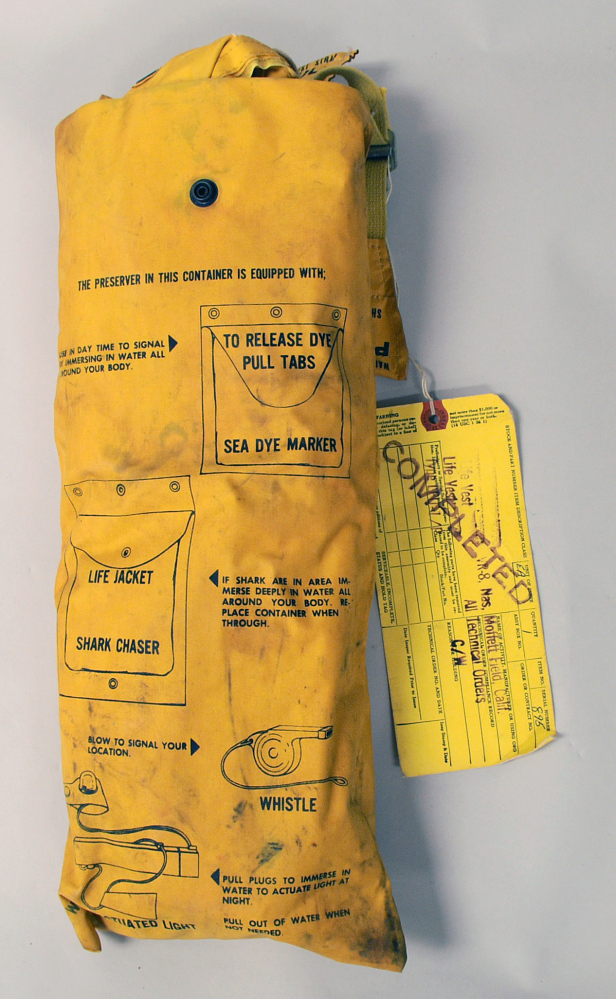 Life Preserver, Type LPU-2/P, United States Air Force,Life Preserver, Type LPU-2/P, United States Air Force