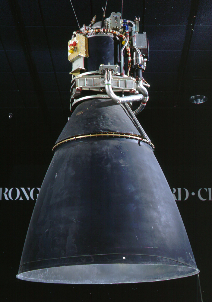 Rocket Engine, Liquid Fuel, Apollo Lunar Module Descent Engine,Rocket Engine, Liquid Fuel, Apollo Lunar Module Descent Engine