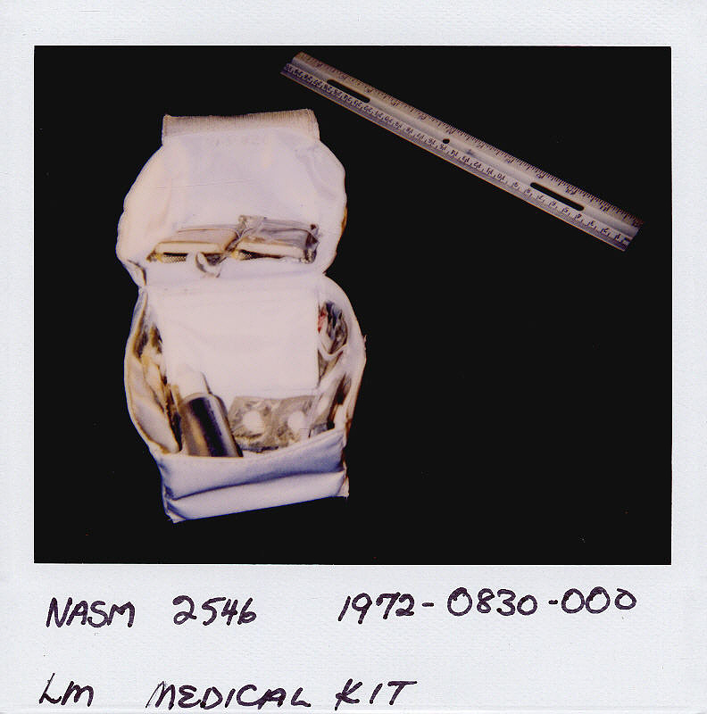 Kit, Medical Accessories, Lunar Module