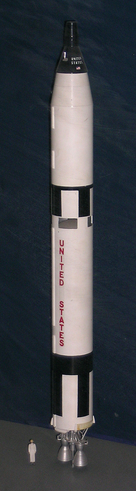 Model, Rocket, Gemini Titan II, 1:48,Model, Rocket, Gemini Titan II, 1:48