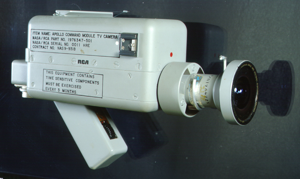 Camera, Television, Apollo 7, with Wide Angle Lens