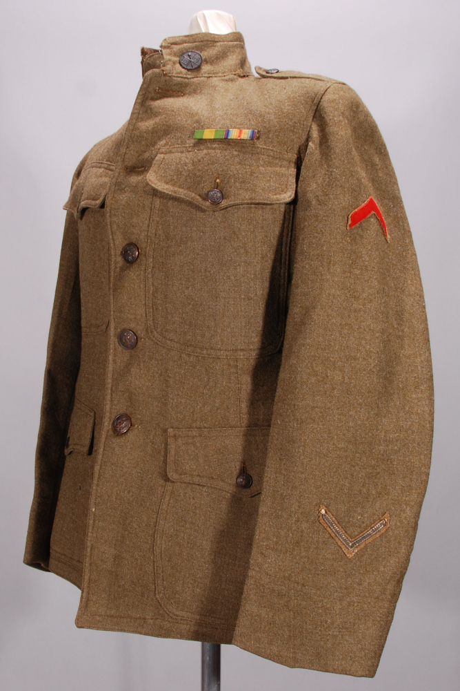 Coat, Service, United States Army Signal Corps,Coat, Service, United States Army Signal Corps