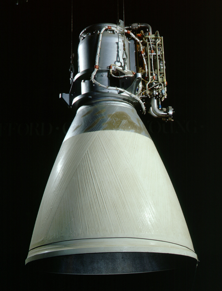 Rocket Engine, Liquid Fuel, Apollo Lunar Module Ascent Engine,Rocket Engine, Liquid Fuel, Apollo Lunar Module Ascent Engine