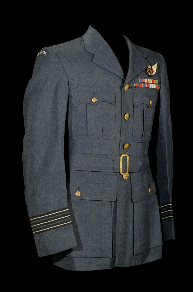 Coat, Service, Winter, Officer, Royal Canadian Air Force