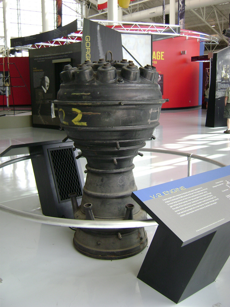 Rocket Engine, Combustion Chamber, V-2