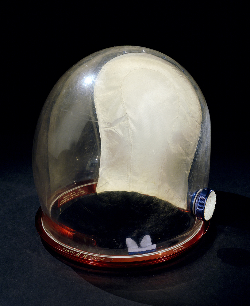 Helmet, Pressure Bubble, Armstrong, Apollo 11, Flown