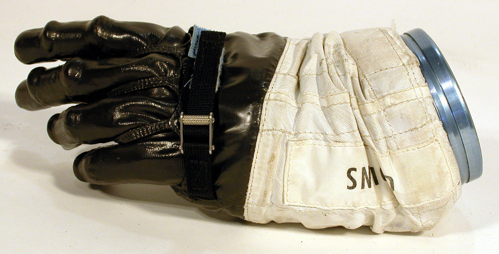 Glove, Left, A7-L, Intravehicular, Apollo 11, Collins, Flown