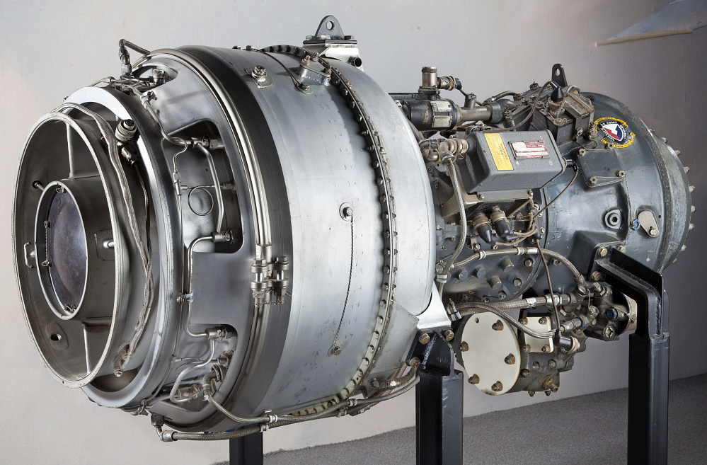 Lycoming T53-L-13 (LTC1K-4) Turboshaft Engine