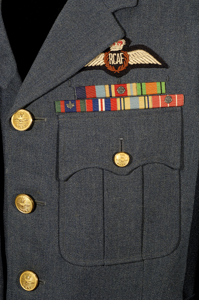 Coat, Service, Winter, Royal Canadian Air Force