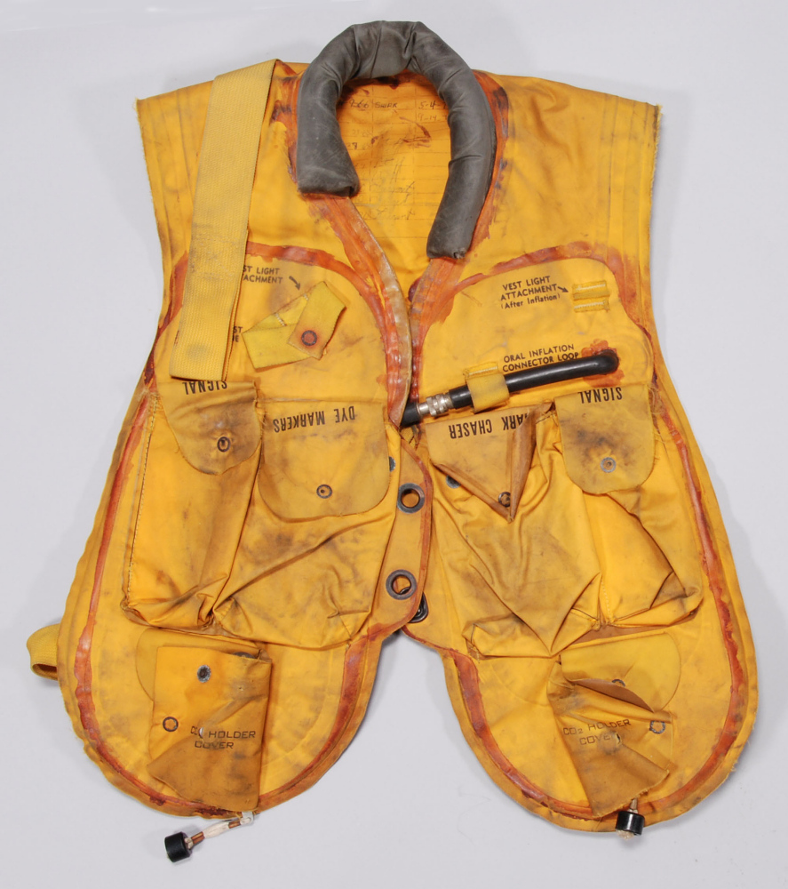 Life Vest, Pneumatic, Mark 2, United States Navy,Life Vest, Pneumatic, Mark 2, United States Navy