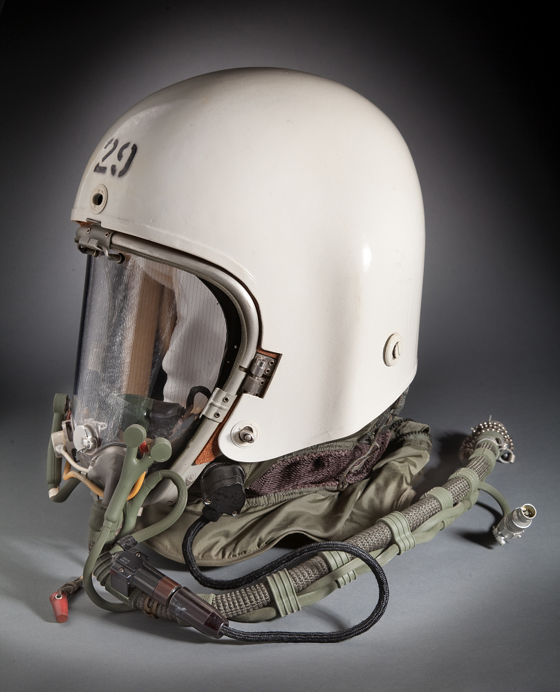 Helmet, Flying, Full Pressure, Type MA-2, United States Air Force, Francis Gary