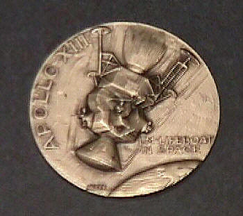 Medal, Commemorative, Apollo 13,Medal, Commemorative, Apollo 13