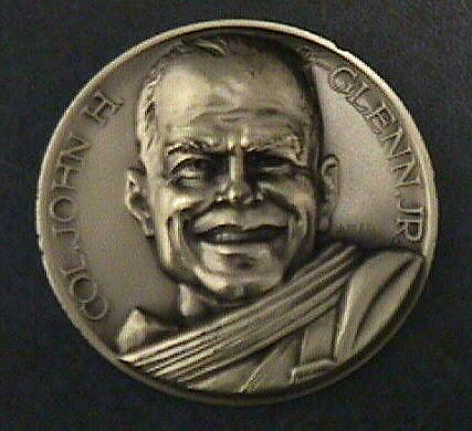 Medal, Commemorative, John Glenn