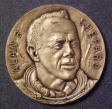 Medal, Commemorative, Alan Shepard, Freedom 7,Medal, Commemorative, Alan Shepard, Freedom 7