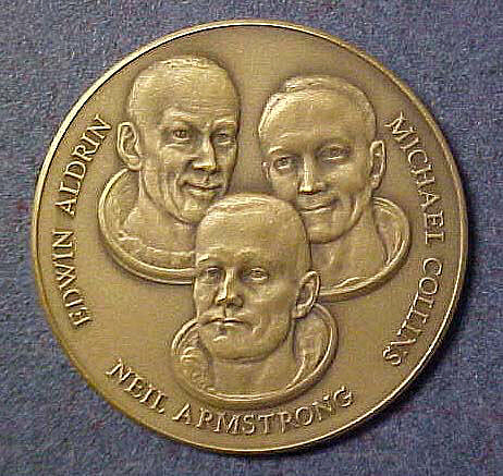 Medal, Commemorative, Apollo 11,Medal, Commemorative, Apollo 11