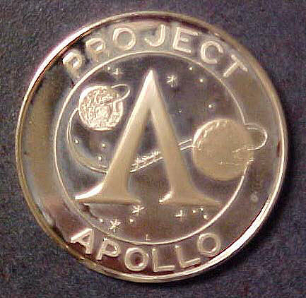 Medal, Commemorative, Apollo 13, Lincoln Mint,Medal, Commemorative, Apollo 13, Lincoln Mint