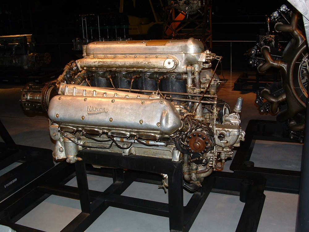 Napier Lion W-12 Engine