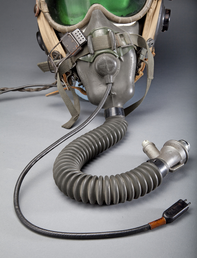 O2 Mask, Flying, Experimental, National Advisory Committee for Aeronautics