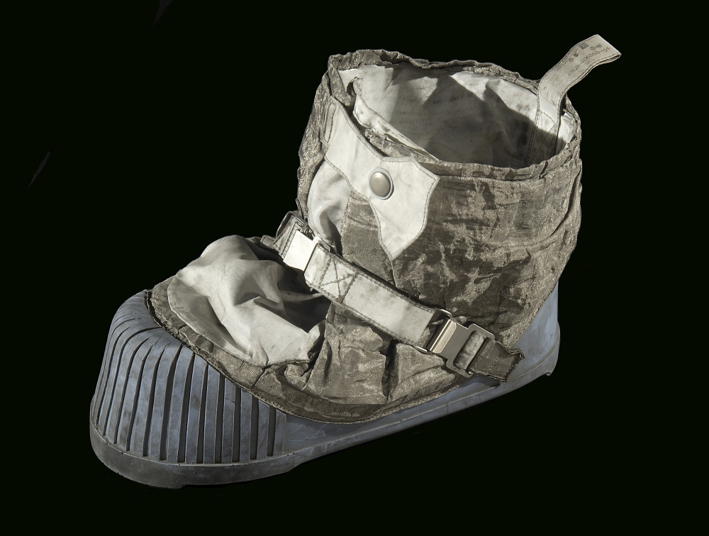 Boot, Right, Lunar Overshoe, Cernan, Apollo 17, Flown
